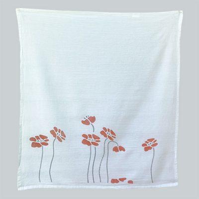 Poppy towelette